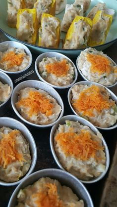 Siomai, B Food, Indonesian Food, Dim Sum, Allrecipes, Food To Make, Chicken Recipes, Food And Drink, Dessert Recipes