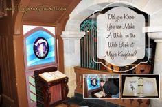 Writing Your Wish in the Wish Book at Magic Kingdom WDW