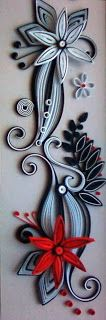 neli: Quilling in black and white