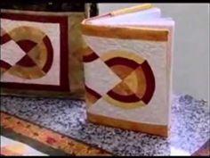 Patchwork Ana Cosentino - Curvas Parte III - YouTube Capa de caderno
