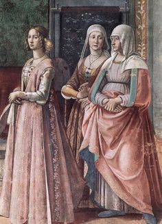 Women in Florence, 1480 to 1500 - The Wardrobe
