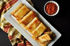 A creative Spring Roll recipe that will have all of your friends craving for more on game day.
