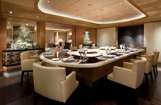 Beautiful Yacht Interiors | outstanding photograph above, is other parts of Luxury Yacht Interior ...