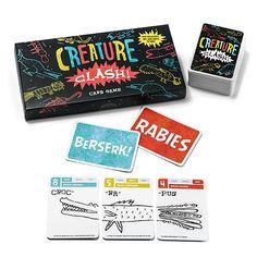 Creature Clash Card Game $14.99 fun & learning game w/math.