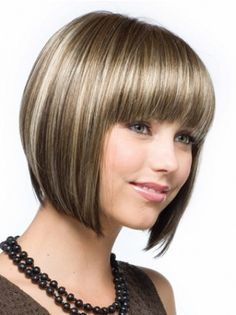 SKU:HW03013; Material:Synthetic; Cap Construction:Capless; Cap Construction:Capless; Length:Chin Length; Hair Style:Straight; #wigs #wig #wigsis #syntheticwigs #fiberwigs #syntheticlacewigs