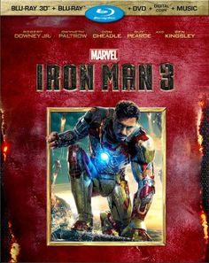 Iron Man 3 (Three-Disc Blu-ray 3D / Blu-ray / DVD + Digital Copy) http://www.blurayflix.com