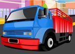 I camion che arrivano dopo le consegne alle varie aziende, devono essere parcheggiati e questo è proprio il tuo compito. Attenzione a non urtare i marciapiedi!