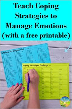 I LOVE this free coping strategies challenge. Learn all about coping strategies and how you can join Pathway 2 Success to grab your own 30 day coping strategies challenge for kids and teens. Calming Activities, Therapy Activities, Coping Skills, Social Skills, Life Skills, Emotional Regulation, Self Regulation, Preschool Special Education, Kids Education