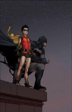#Batman #And #Robin #Fan #Art. (All-Star Batman and Robin the Boy Wonder #10) By: Frank Quitely. [THANK U 4 PINNING!!]