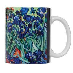Vincent van Gogh's Les Irises Mug - Detroit Institute of Arts Museum Shop