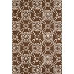 United Weavers Panama Jack Signature Maui Chocolate (Brown) 1 ft. 11 in. x 3 ft. Accent Rug