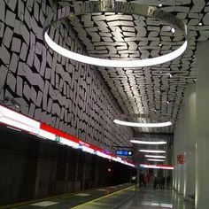 #metroasemalla #Urheilupuisto. #Espoo. #länsimetro. #länDimetro, #westmetro. #metro 🚇 #subway, #underground #station. #tube. #länsimetro. #ländimetro. #travel #voyagevoyage. #art. #skifi. #design beam me up, Scotty! Up, Design, Leotards