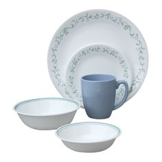 Corelle® Livingware™ Country Cottage 76-pc Dinnerware Set - Corelle ...
