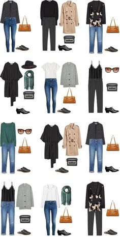 What to Wear in Dublin, Ireland Outfit Options Packing Light List Source by jessica_sawatzk travel outfit Capsule Wardrobe, Travel Wardrobe, Wardrobe Ideas, Fall Outfits, Cute Outfits, Fashion Outfits, Style Work, My Style, Noora Style