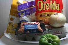Sunday Breakfast: CrockPot Hash Brown Breakfast Casserole