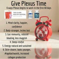 You didn't get the way you are overnight. It takes time to get where you want to be. Give plexus a chance!