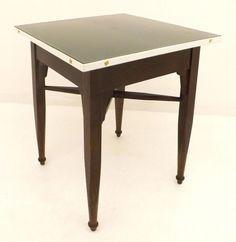 Arts & Crafts oak table base