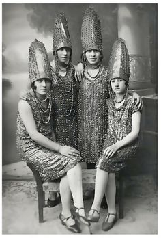 The Pickle Sisters - Retronaut  This is hilarious!! I could definitely see the 4 of us like that back then (shhh, remember our unicorn dresses!)