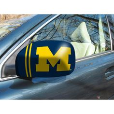 Michigan Wolverines NCAA Mirror Cover (Small)