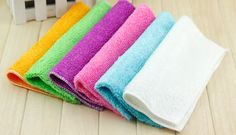High Efficient Anti grease Color Dish Cloth Bamboo Fiber Washing Towel Magic Kitchen Cleaning Wiping Rags-in Cleaning Cloths from Home & Garden on Aliexpress.com | Alibaba Group