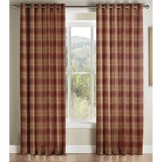 Alpen Home Burlington Semi Sheer Curtains Sheer Curtains