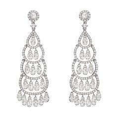 Diamond Chandelier Earrings, Diamond Earing, Diamond Heart, Diamond Studs, Ring Earrings, Diamond Jewelry, Peacock Earrings, High Jewelry, Jewellery