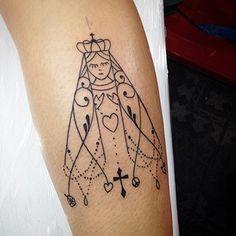 nossa senhora aparecida tattoo nas costa - Pesquisa Google