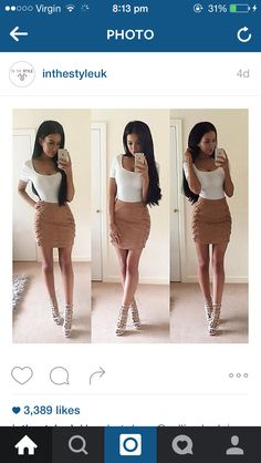 This skirt would look good on me