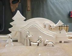 Relief Krippe I Holz,Dekupiersäge,Advent,Dekupiersäge Laubsäge,Adventsdekoration
