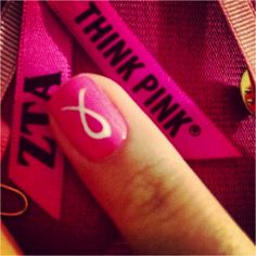 How to Rock Pink for Breast Cancer Awareness: Featuring Zeta Tau Alpha | Her Campus