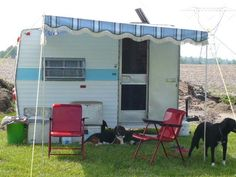 shasta awnings | ... Shasta COMPACT VINTAGE SHASTA COMPACT CAMPER WITH WINGS AND AWNING