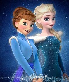 "Anna &Elsa ""Olaf's Frozen Adventure"""