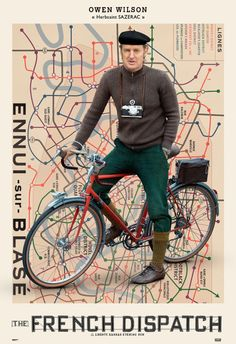 A look at The French Dispatch's cast posters - i-D