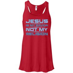 Jesus Is MyRacerback Tank TopGet this stunning Womens Racerback Tank Topin a Wide Variety of Sizes and Colors, great for wearing casually or even in the Gym.O