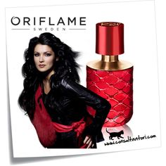 My Red by Oriflame Natural Beauty, Perfume Bottles, Wonder Woman, Polyvore, Red, Women, Sweden, Wonder Women, Rouge