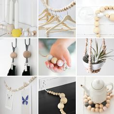 Wooden beads ideas