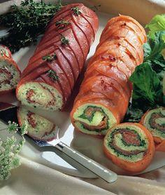 Salmon rolls - Lohirullat