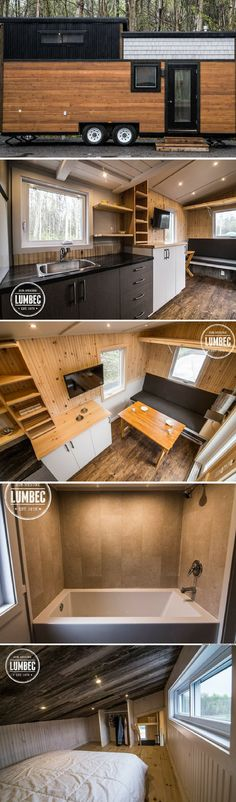 The Lumbec tiny house