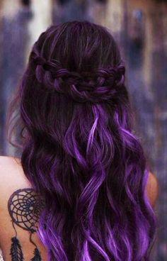 Ombre Hair Purple Purple Ombre 2