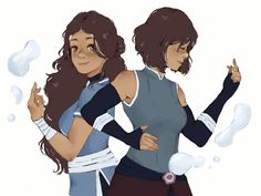 "lemon-creme: ""i miss my avatar girls "" Water tribe *In Sokka's voice* Avatar Aang, Avatar The Last Airbender Art, Team Avatar, Avatar Cartoon, Cartoon Tv, Tai Lee, Legend Of Aang, Avatar World, Water Tribe"