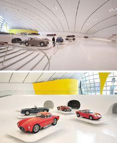 Museo-Ferrari. Architetto Andrea Morgante.