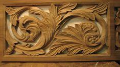 Resultado de imagem para acanthus leaf carving