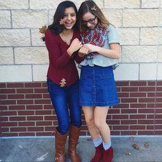 Faith and Bailey are such cute friends