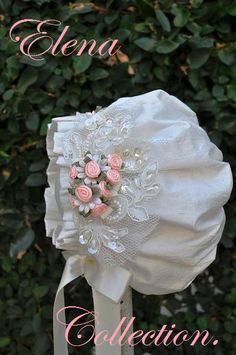 Exceptional Christening Gown/ Photo Pro. Victorian Inspired Bonnet.