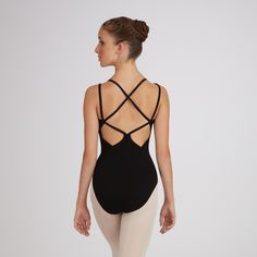 Gorgeous back details <3 // Capezio Lattice-Back Camisole Leotard #ballet #dance