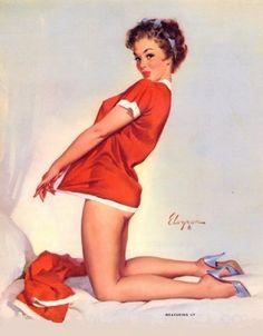 Christmas Pin ups | Vintage Folly