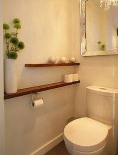 Super Diy Bathroom Shelves Above Toilet Ideas - Fashion DIY! - - most beautiful shelves - Shelves in Bedroom Living Room Shelves, Shelves In Bedroom, Bathroom Shelves, Bathroom Storage, Living Rooms, Powder Room Storage, Powder Room Decor, Powder Room Design, Diy Bathroom