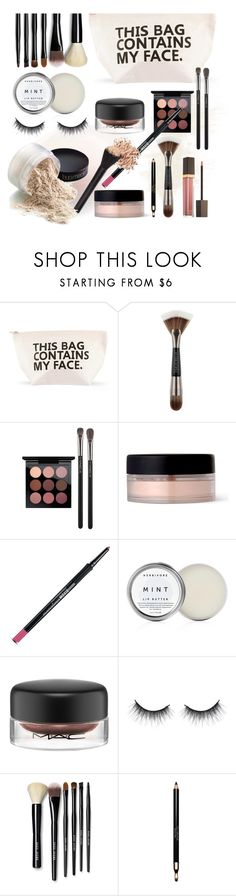 """In My Makeup Bag"" by jill-bh ❤ liked on Polyvore featuring beauty, Forever 21, Urban Decay, MAC Cosmetics, Bare Escentuals, Herbivore, Bobbi Brown Cosmetics, Clarins and Tom Ford"
