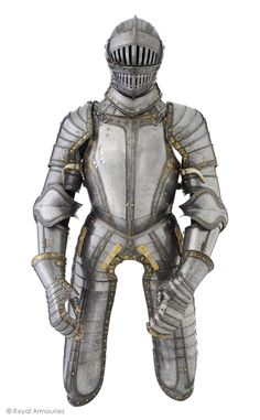 Three-quarter armour armored knight fight field and tournament renaissance period