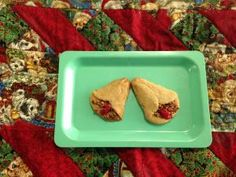 Spiced Cherry Bells | This recipe makes a beautiful presentation and is just delicious.
